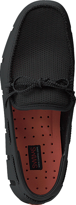 Swims Braided Lace Loafer Black Scarpe Online