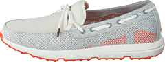 Breeze Leap Laser Lace Light Grey/White/Orange