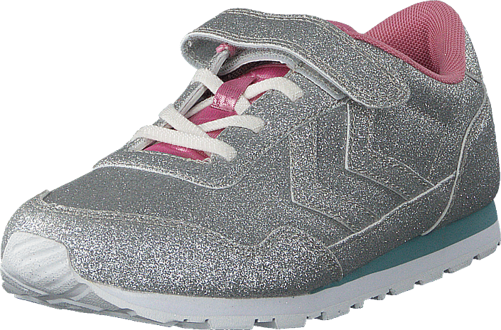 a7a18610 Køb Hummel Reflex Glitter Jr Silver grå Sko Online | FOOTWAY.dk