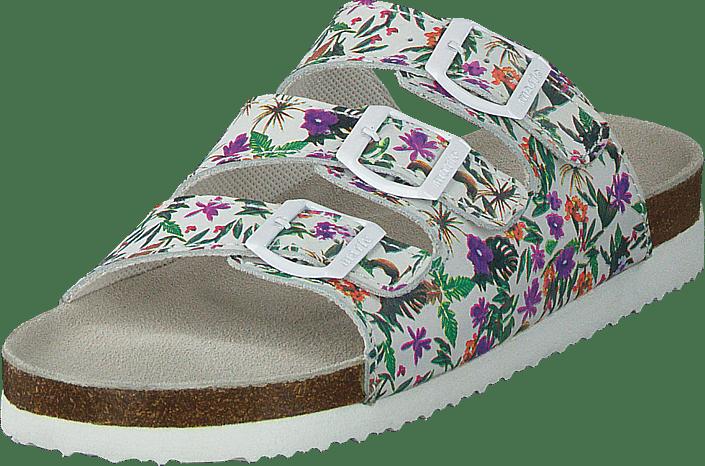 Sköna Marie - Coral White/purple