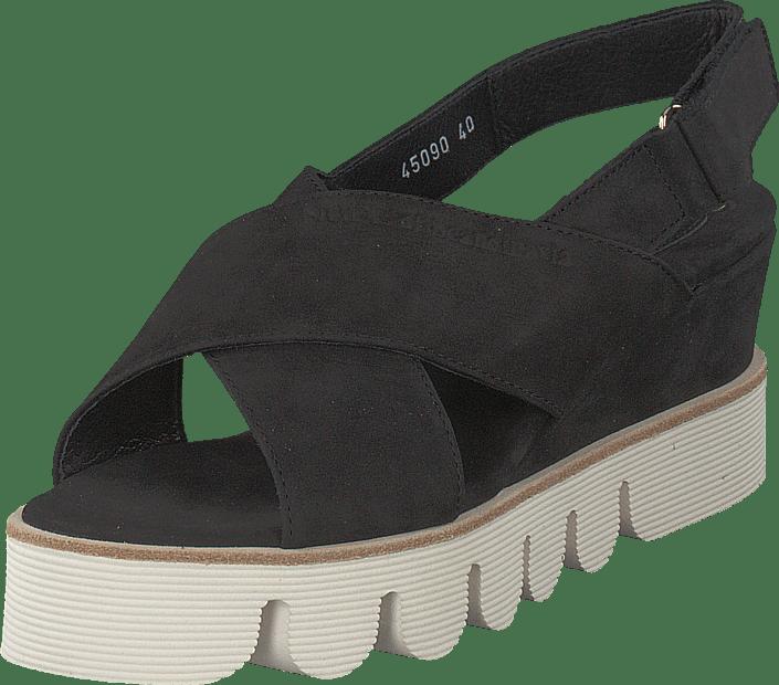 Tøfler : Butterfly Twists Dame Svart Lave sko Chloe Snake