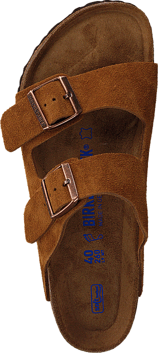 Birkenstock - Arizona Soft Regular Suede Mink
