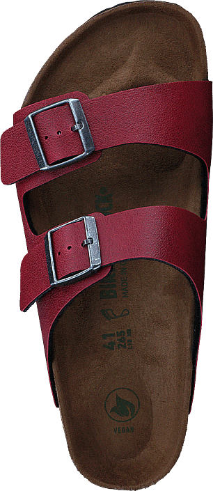 Birkenstock - Arizona Regular Vegan Birko-flor Pull Up Bordeaux