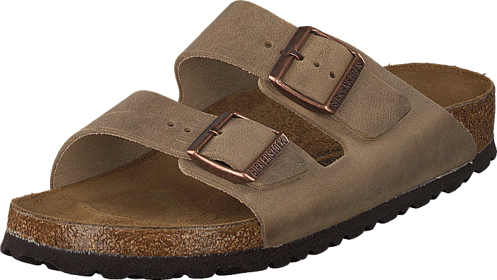 Birkenstock - Arizona Slim Leather Tabacco Brown