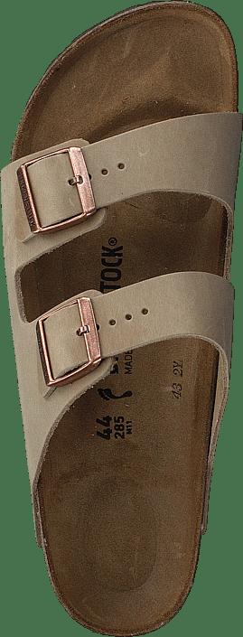 Femme Chaussures Acheter Birkenstock Arizona Slim Leather Tabacco marron Chaussures Online