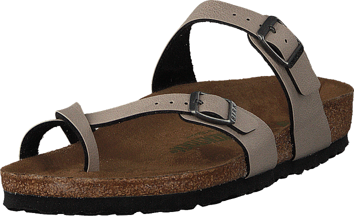 699b04d2b98 Buy Birkenstock Mayari Regular Vegan Birko-flor Pull Up Stone brown ...