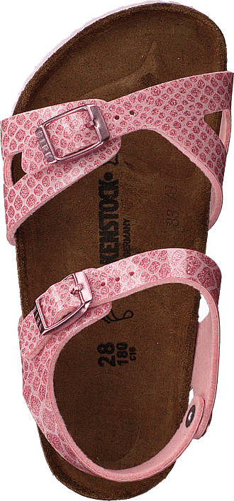 Birkenstock - Rio Regular Birko-flor Magic Snake Rose