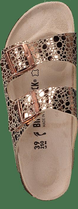 Birkenstock - Arizona Slim Birko-flor Metallic Stones Copper