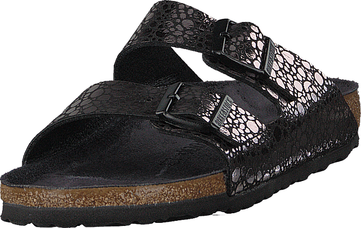 Birkenstock - Arizona Slim Birko-flor Metallic Stones Black
