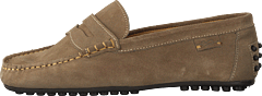Driving Loafer Sde Sand