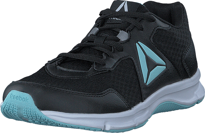 Reebok - Express Runner Black/Blue Lagoon/White/Silver