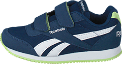 Royal Cljog 2 2V Washed Blue/White/Lime Glow