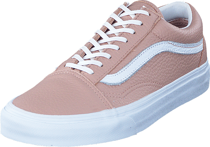 UA Old Skool DX Tumble Leather mahogany rose