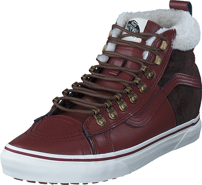 9c3c17b330 Buy Vans UA SK8-Hi 46 MTE DX (MTE) burgundy marshmallow blue Shoes ...