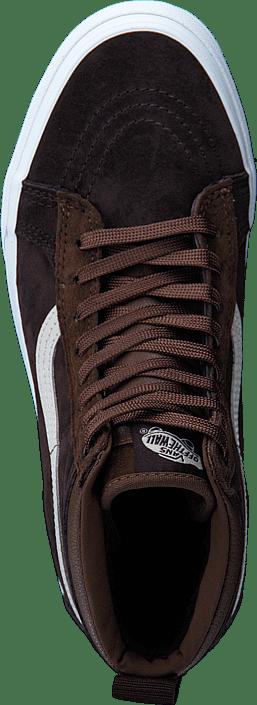 788e08f22e6 Buy Vans UA SK8-Hi MTE (MTE) dark earth seal brown blue Shoes Online ...