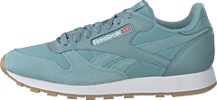 Cl Leather ESTL Whisper Teal/White