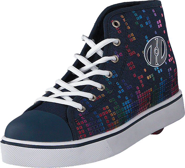 Heelys Veloz Denim/rainbow Block Print