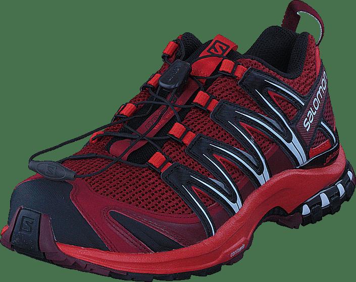 XA PRO 3D Red DalhiaFiery RedBlack