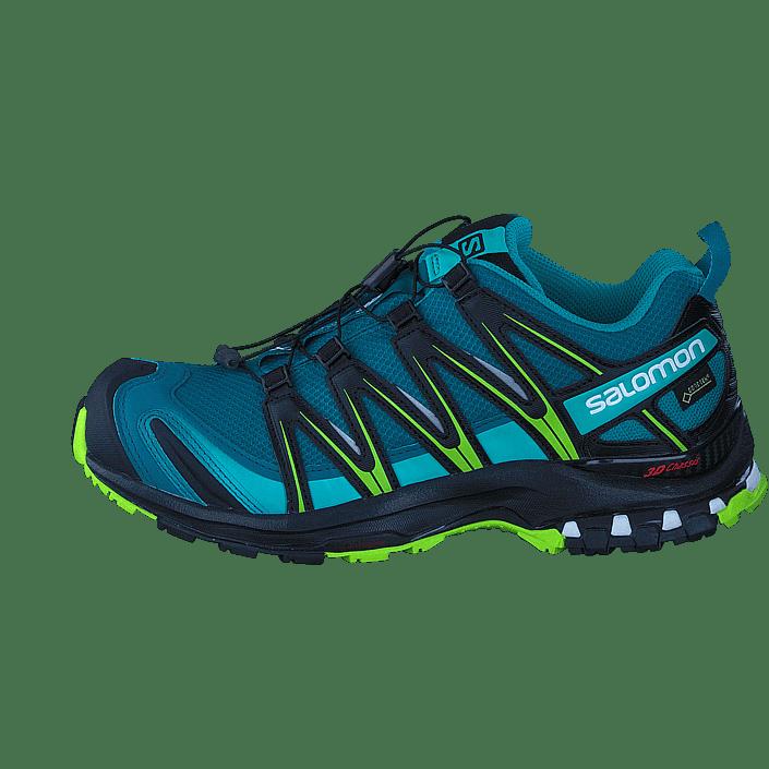Köp Salomon XA Pro 3D GTX® W Deep LakeBlackLime Green Skor