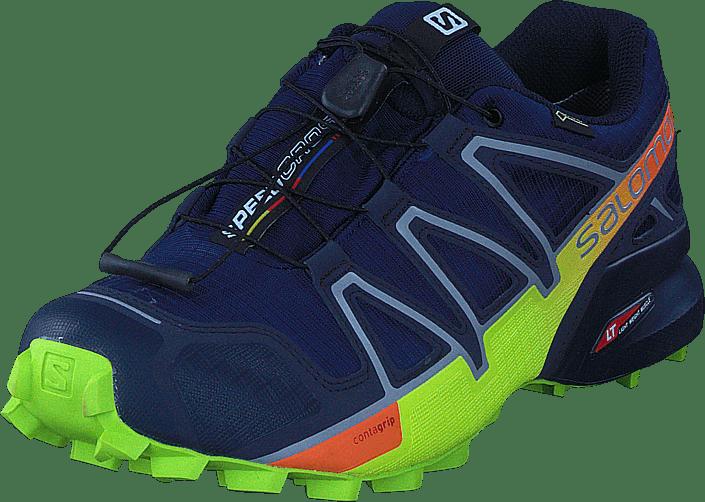 détaillant en ligne ca6a9 d6ee1 Speedcross 4 GTX® Medieval Blue/Acid Lime/Graph