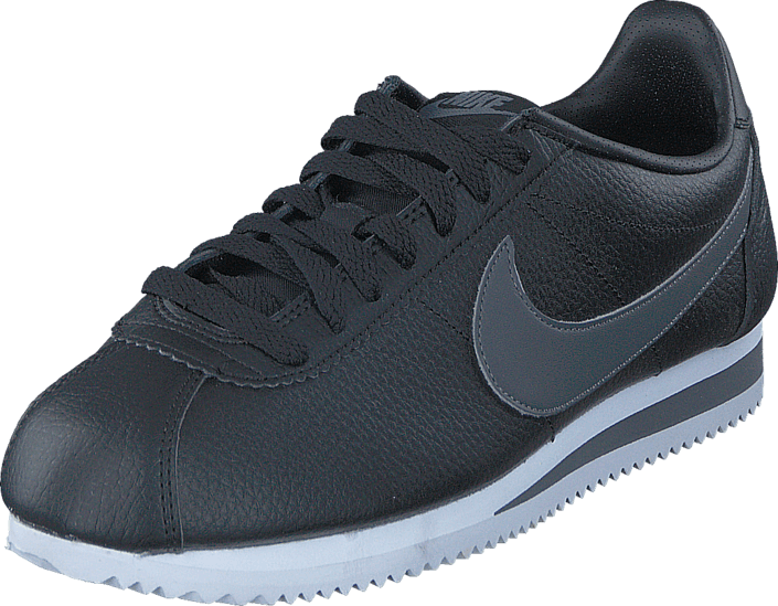 the latest 6c88d 99e49 Nike - Classic Cortez Leather Black dark Grey white