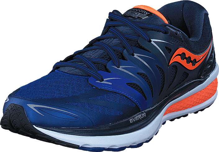 Saucony - Hurricane Iso 2 Navy/blue/orange