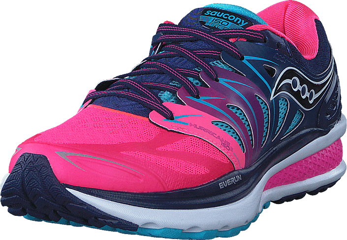 Saucony - Hurricane Iso 2 Blue/pink