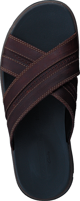Brixby Cross Dark Brown Lea