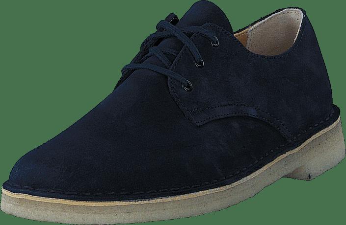 5e36311ffb50ae Acheter Clarks Desert Crosby Midnight bleus Chaussures Online ...