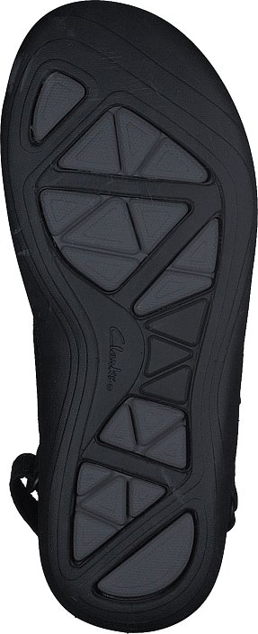 Clarks - Garatt Active Black Leather