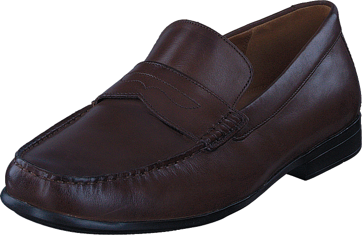 Clarks - Claude Lane Brown Leather