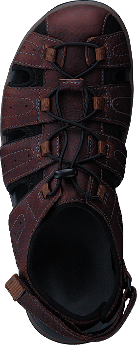 Clarks - Brixby Cove Dark Brown Lea