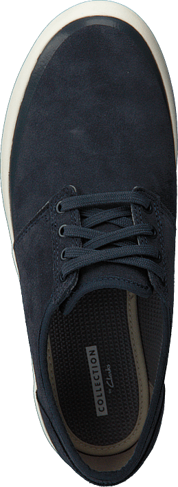 Clarks - Torbay Rand Blue Suede