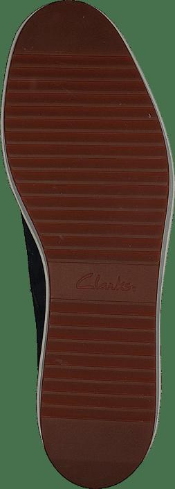 Kjøp Clarks Teadale Rhea Navy Suede Sko Online