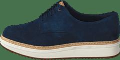 sports shoes b5998 e7f02 Clarks - Teadale Rhea Navy Suede