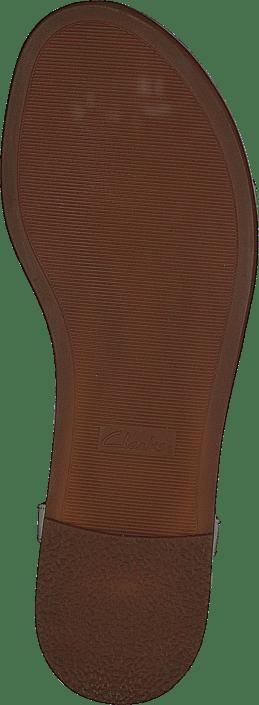 Clarks - Bay Blossom White Patent