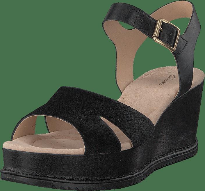 Black Heels Online Eden Akilah Kjøp Leather Clarks Grå Sko qwtWO48