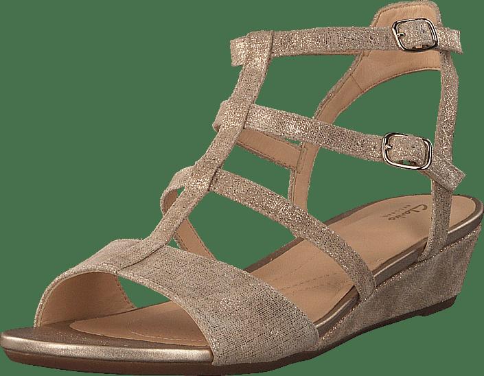 Clarks - Parram Spice Gold Suede