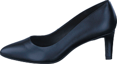 Calla Rose Black Leather