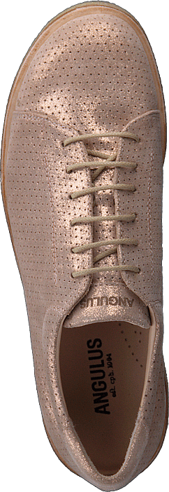 a074576bb4c0 Køb Angulus Sneaker With Plateau Sole Copper Glitter brune Sko ...