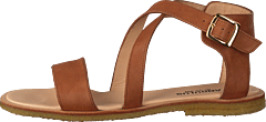 Sandal With Buckle Tan