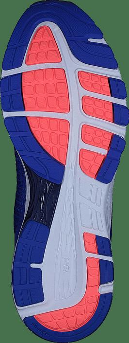 Blue Sko Asics Purple 2 white Kjøp Blå Sneakers Online Dynaflyte indigo 68qxwt