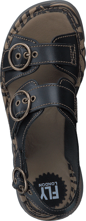 Tear806fly Bridle Black