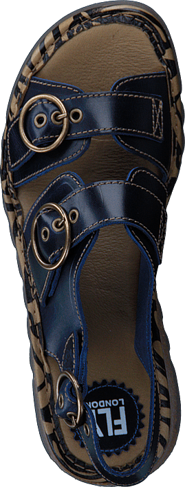 Kjøp Fly London Tear806fly Bridle Blue Sko Online