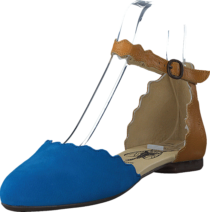 Buy Fly London Megs210 Electric Blue honey turquoise Shoes Online ... 1356397540