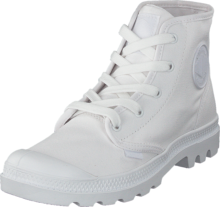 Palladium - Pampa Hi Ladies White/White
