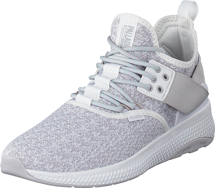 Palladium - Ax_eon Lace Knit White/Nimbus