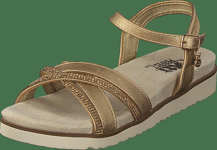 47664 Sandaler Tøfler Brune Sko 61 Xti 60054 Gold Og Online Køb RFn5aCwxqx