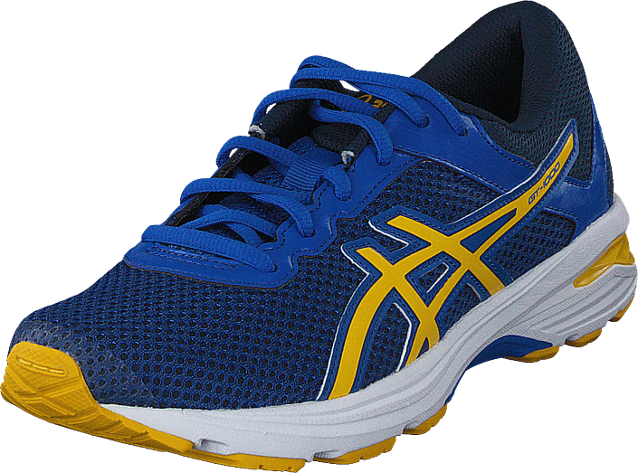 Asics - Gt-1000 6 Gs Victoria Blue/Yellow/dark Blue