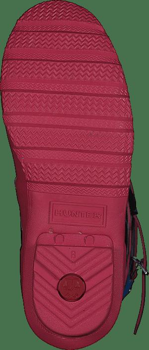 Hunter - Original Floral Stripe Short Floral Stripe/peony